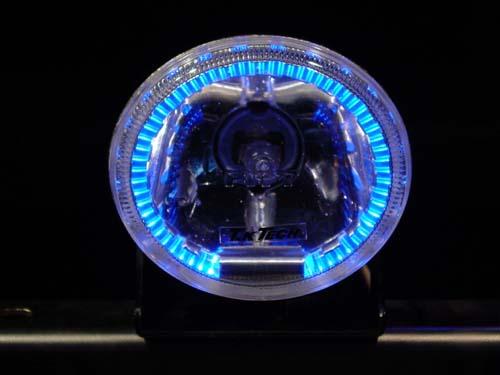 T30エクストレイル LEDDOTARMに組み込まれている楕円形フォグランプリング