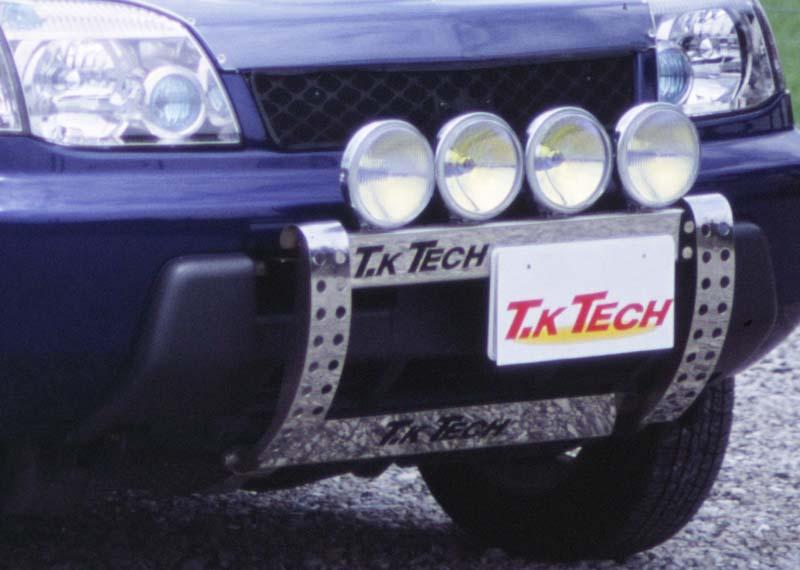 T31エクストレイル ランプステーフォグランプ4灯