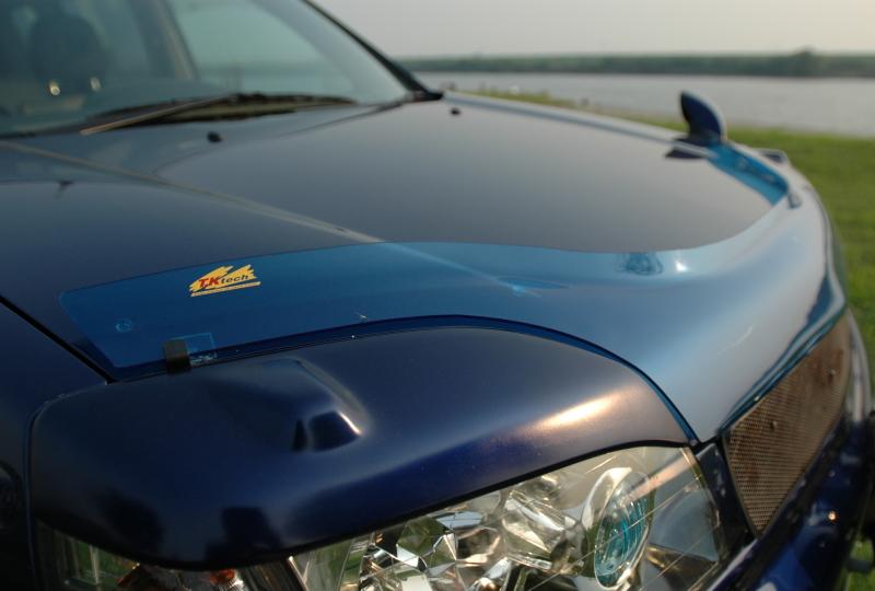 T30エクストレイルの懐かしいブルーのバグガード