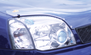 T30エクストレイルのヘッドライト